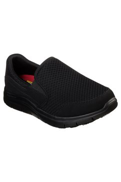skechers werkschoenen cozard met relaxed fit-uitvoering zwart