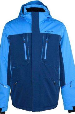 whistler regenjack lynt blauw