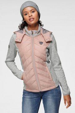 kangaroos kort jack in trendy 2-in-1-look roze