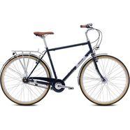 breezer bikes »downtown 7+« trekkingfiets blauw
