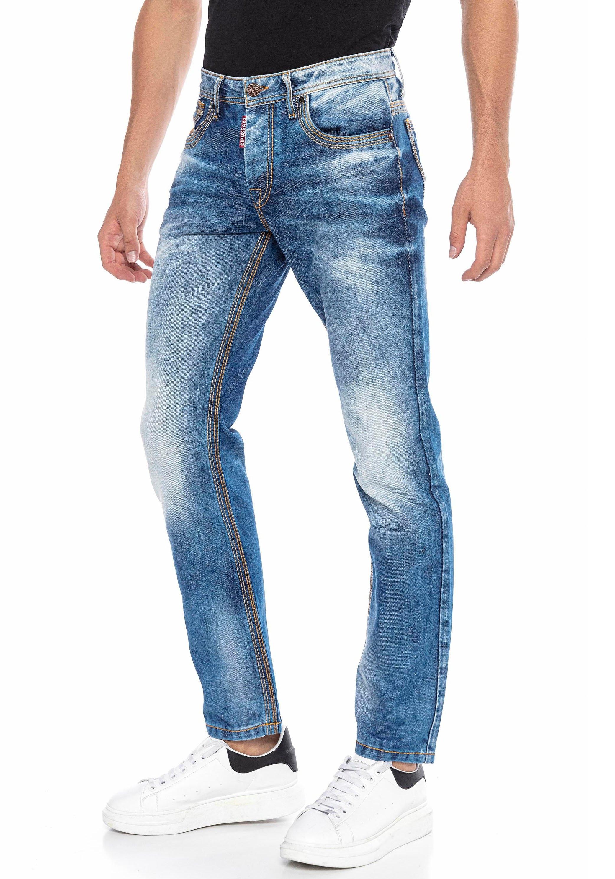 Cipo & Baxx straight jeans met markante wassing bij OTTO online kopen