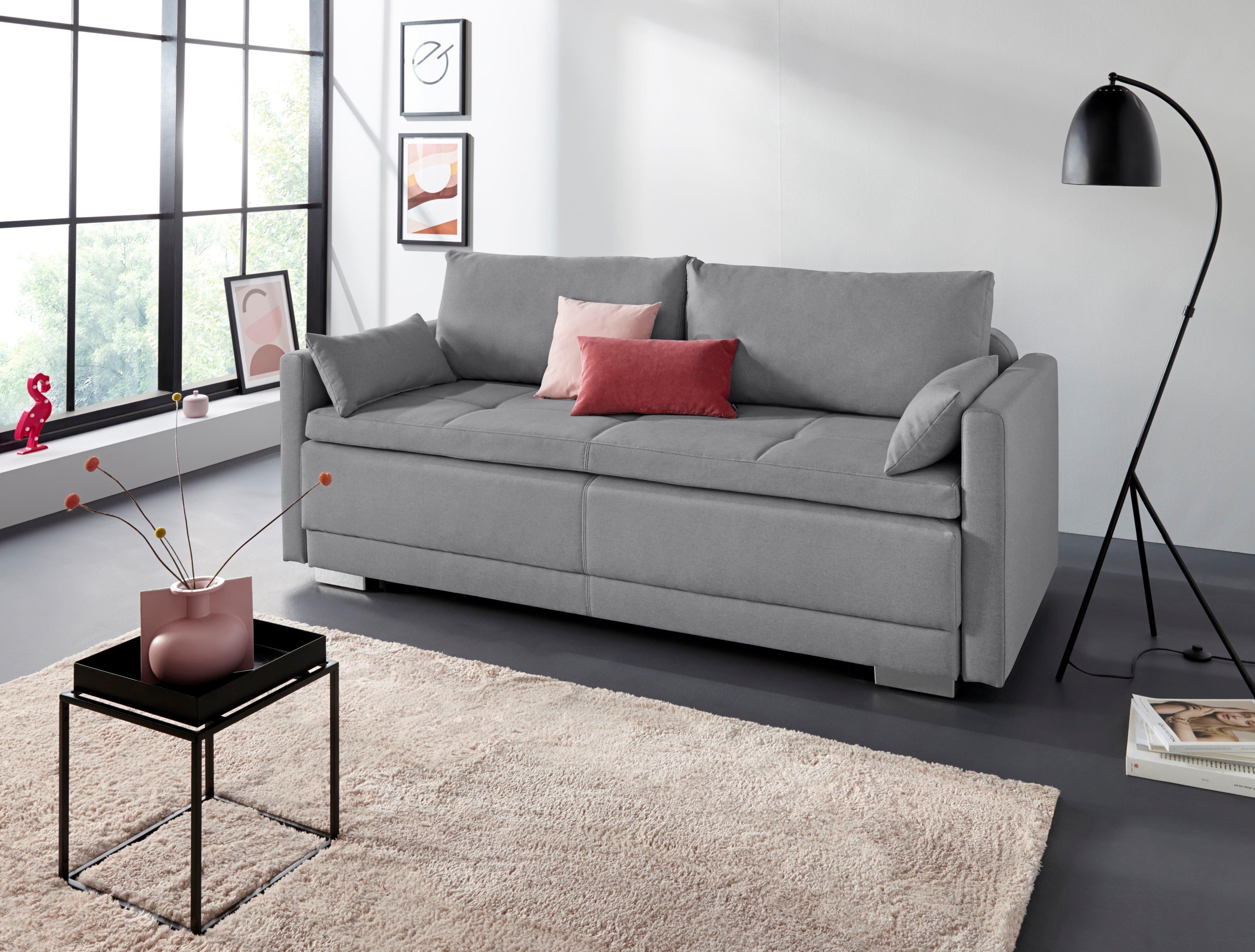 INOSIGN bedbank Alexander Boxspringvering, incl. slaapfunctie en bedkist met comfort-zithoogte bij OTTO online kopen