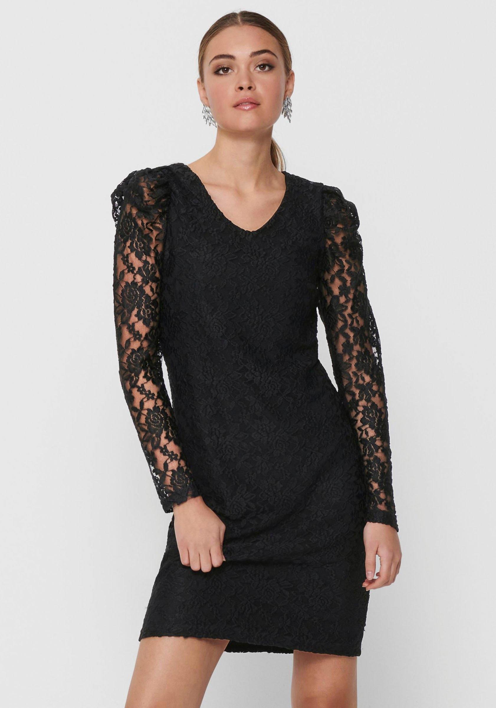 ONLY kanten jurk »ONLPOULA« in de webshop van OTTO kopen