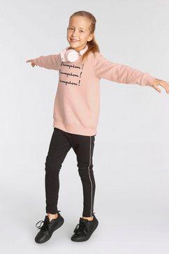champion joggingpak crewneck suit roze
