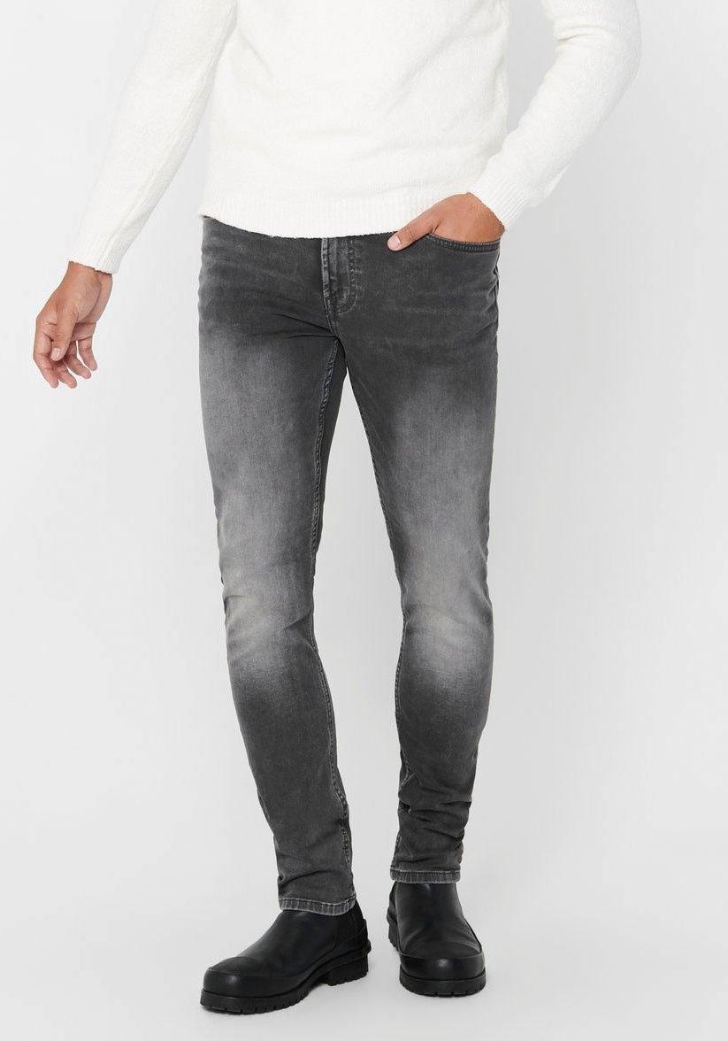 ONLY & SONS Slim fit jeans LOOM SLIM JOGG Denim online kopen op otto.nl