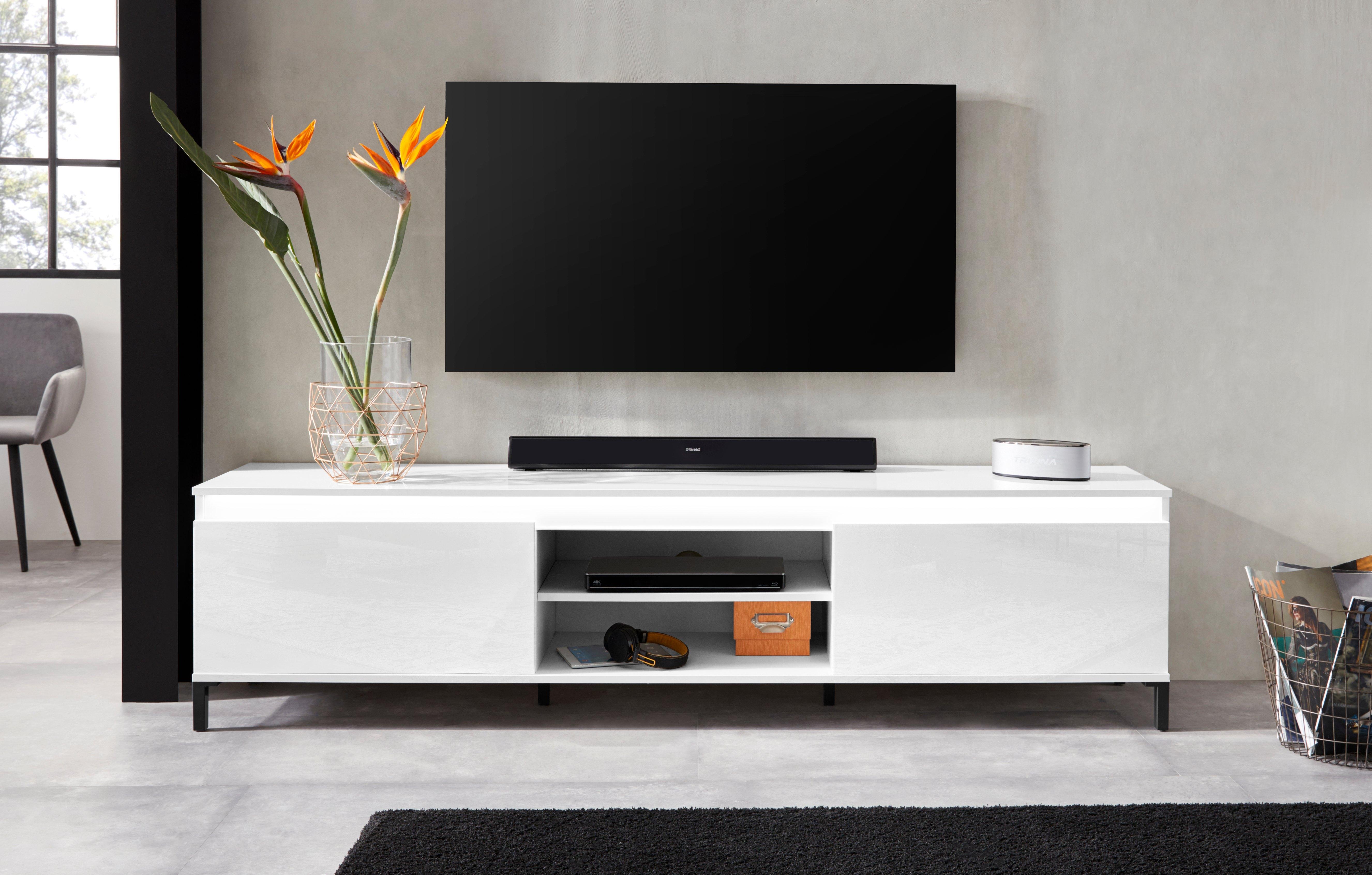 Op zoek naar een KITALY tv-meubel Genio Breedte 200 cm, met omkeerbare strook? Koop online bij OTTO