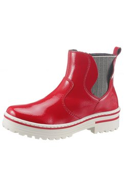 rieker chelsea-boots rood