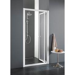 nisdeur »domino«, douchedeur met verstelbereik van 76-83 cm wit