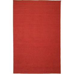 1253498413 wollen kleed »kelim fancy uni« rood