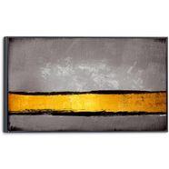 reinders! artprint op linnen golden stripe (1 stuk) goud