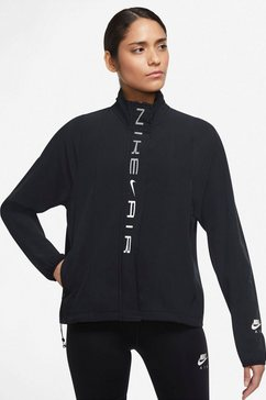 nike runningjack air dri-fit womens running jacket zwart
