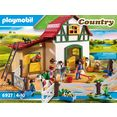 playmobil constructie-speelset ponyboerderij (6927), country made in germany multicolor