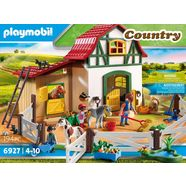 playmobil ponyboerderij 6927 country multicolor