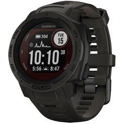 garmin »instinct solar« smartwatch zwart