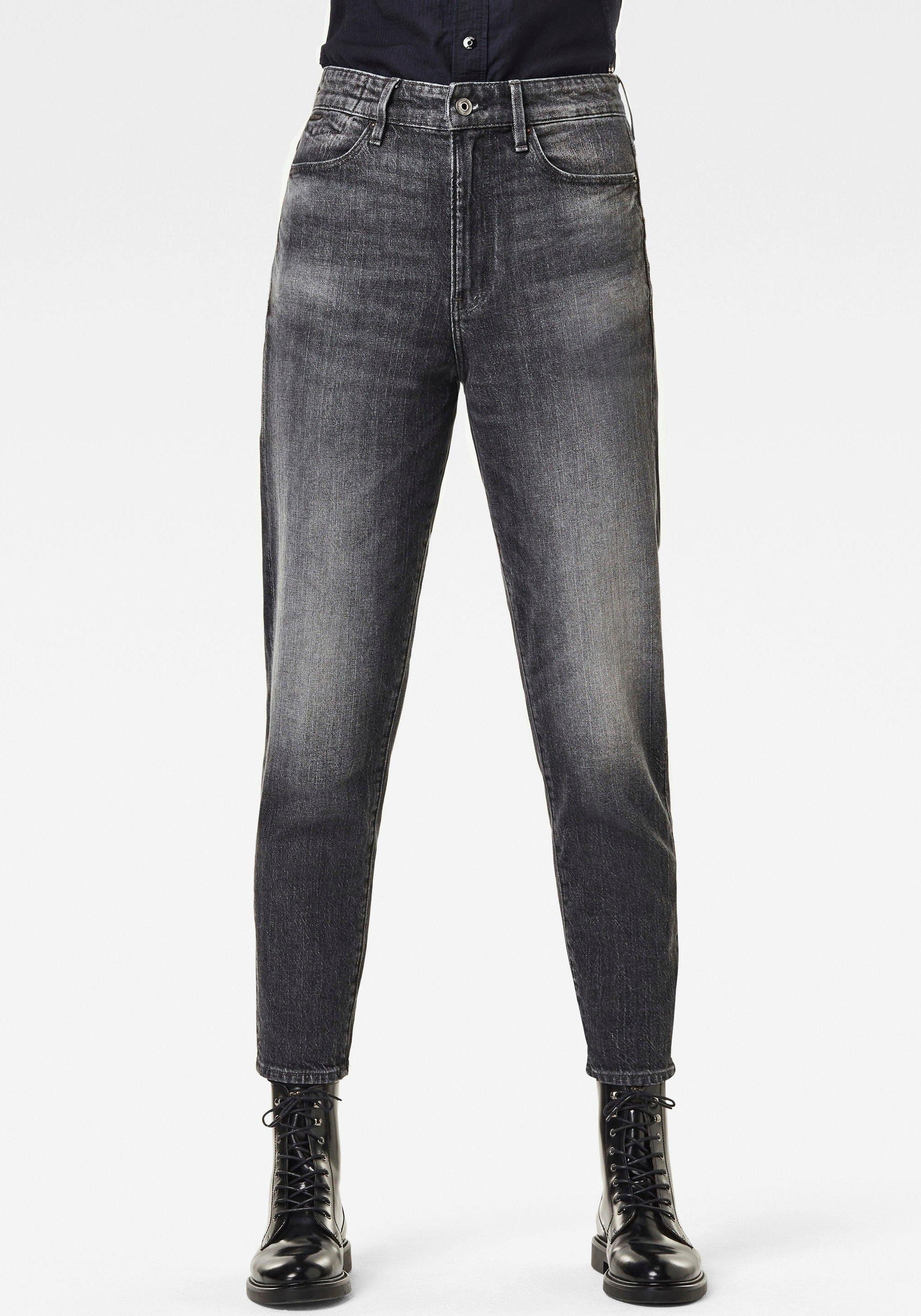 G-Star RAW straight jeans Janeh Ultra High Mom Ankle Jeans in verkort ankle-model met hoge band veilig op otto.nl kopen
