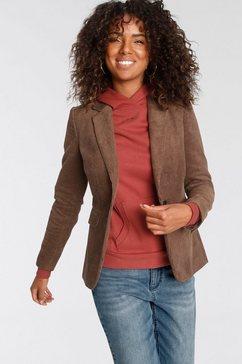 tamaris korte blazer bruin