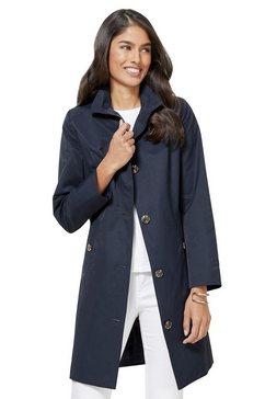 classic inspirationen coat in populaire trenchcoat-stijl blauw