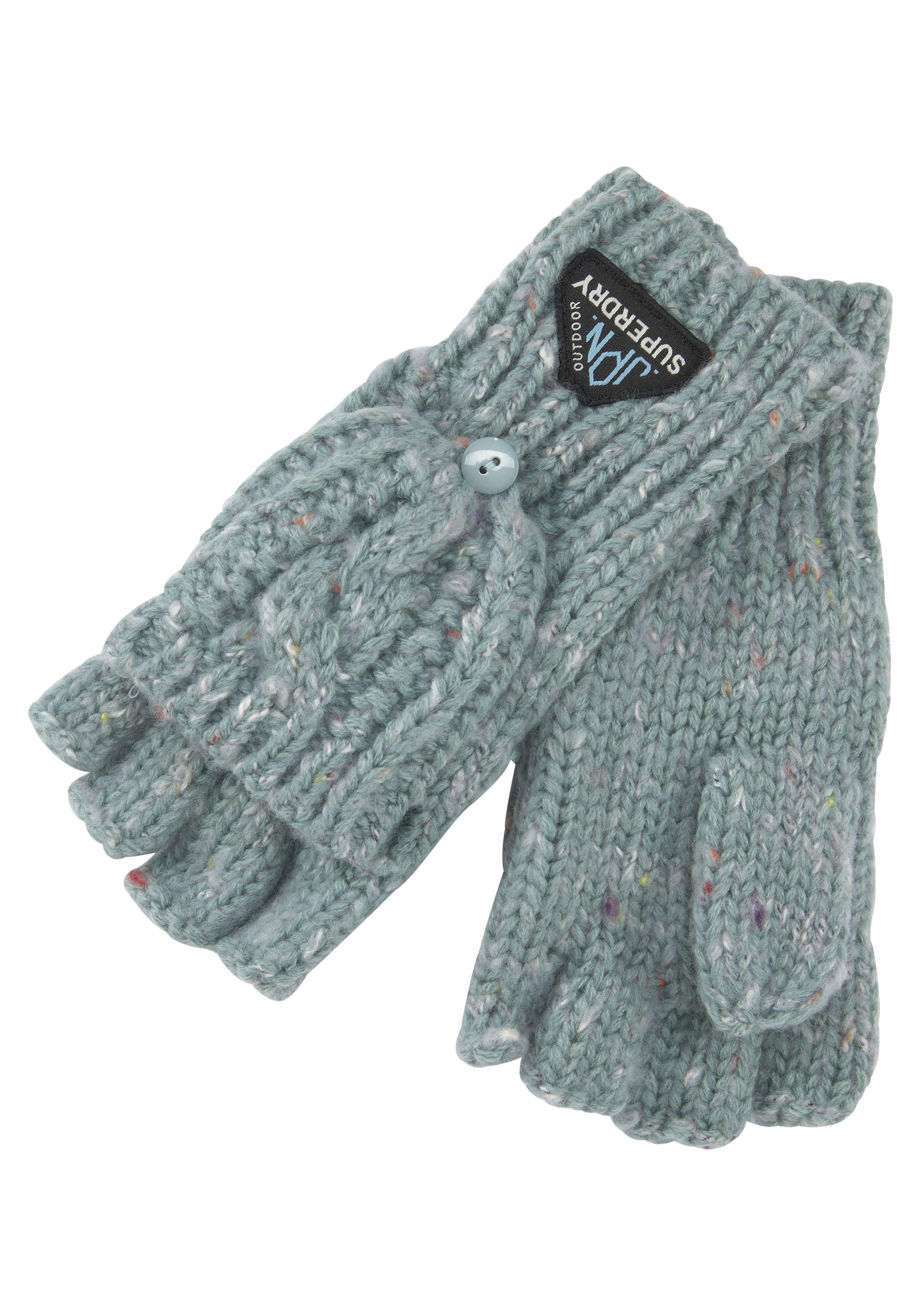 Superdry gebreide handschoenen Gracie Cable Glove (1) bestellen: 30 dagen bedenktijd