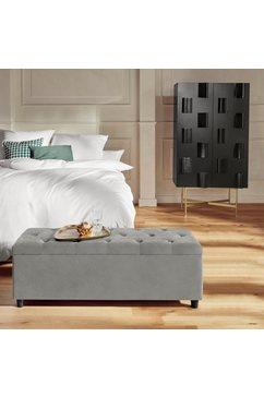 guido maria kretschmer homeliving slaapkamerbankje relaxy gewatteerd, met opbergvak grijs