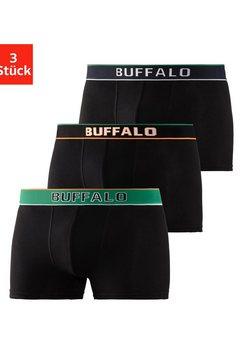 buffalo boxershort (set van 3) zwart