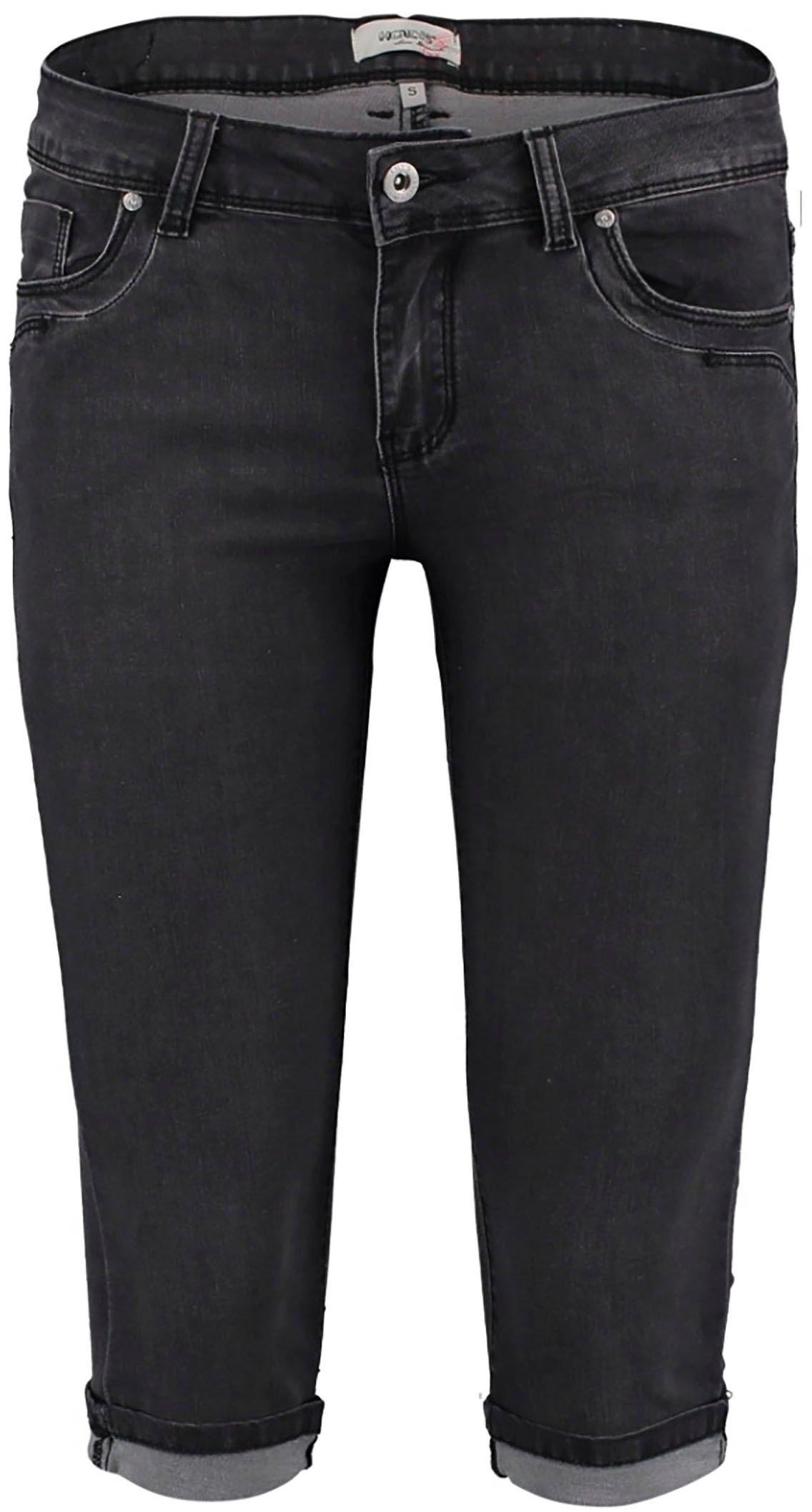 HaILYS capri jeans met zoomomslag in de webshop van OTTO kopen