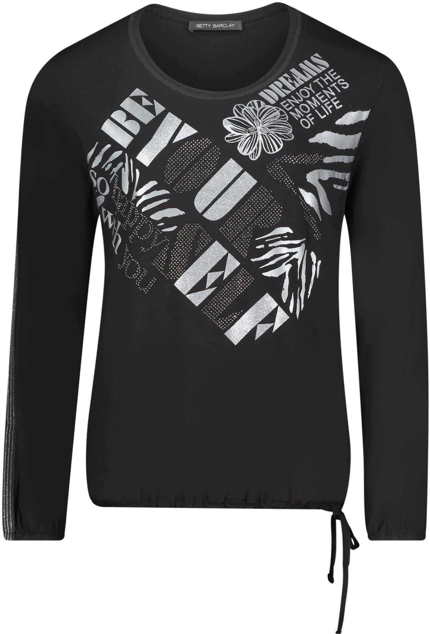 Betty Barclay shirt met ronde hals met foliedruk in de webshop van OTTO kopen
