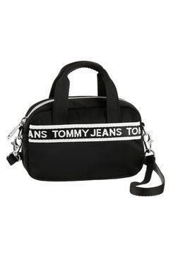 tommy jeans tas »logo tape crossover« zwart
