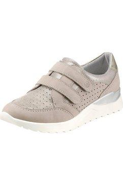 reflexan klittenbandschoenen met verwisselbaar voetbed bruin