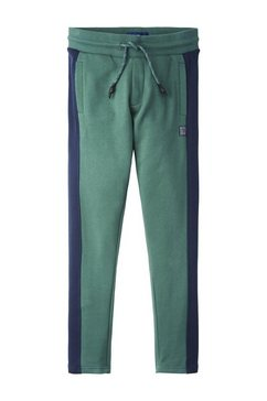 tom tailor chino »jogginghose mit seitlichen streifen« groen