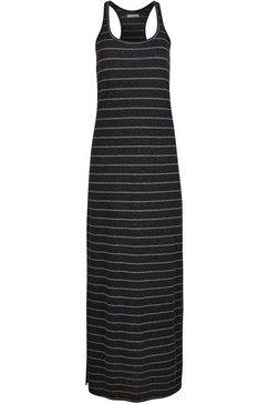 o'neill jerseyjurk foundation striped long dress zwart