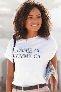 buffalo t-shirt met print wit