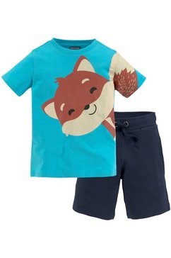 kidsworld shirt  broek blauw