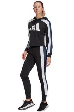 adidas performance trainingspak »w ts big logo« zwart