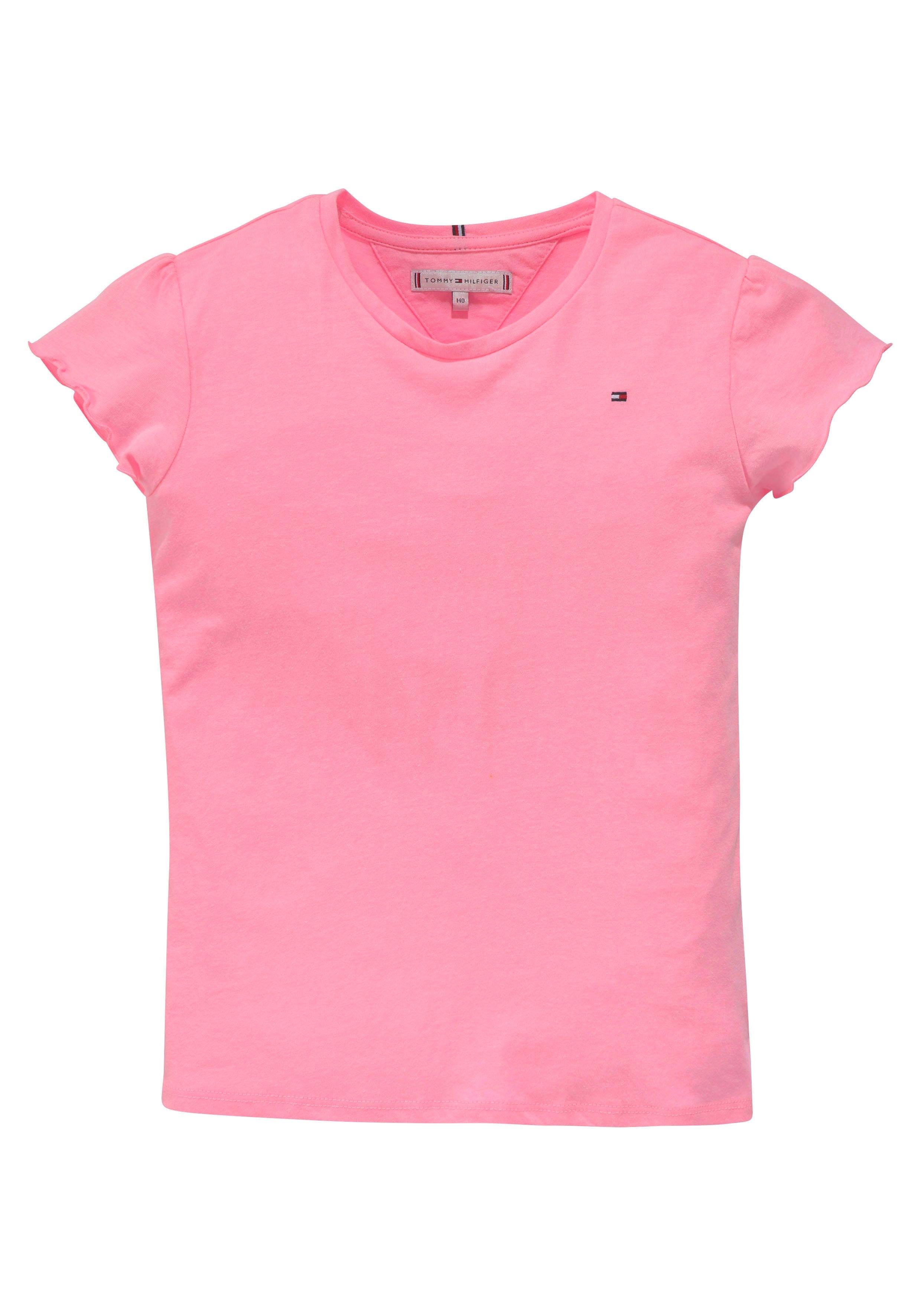 Tommy Hilfiger T-shirt met klein borduursel online kopen op otto.nl