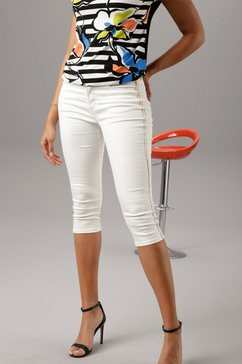 aniston selected capri jeans wit