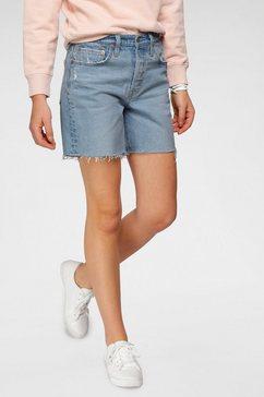 levi's short 501 mid thigh blauw