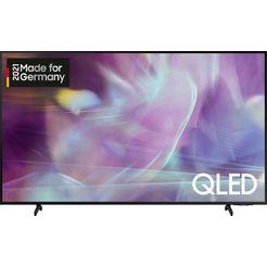 "samsung qled-tv gq75q60aau, 189 cm - 75 "", 4k ultra hd, smart-tv zwart"