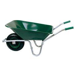sz metall kruiwagen 80 liter, 150 kg groen