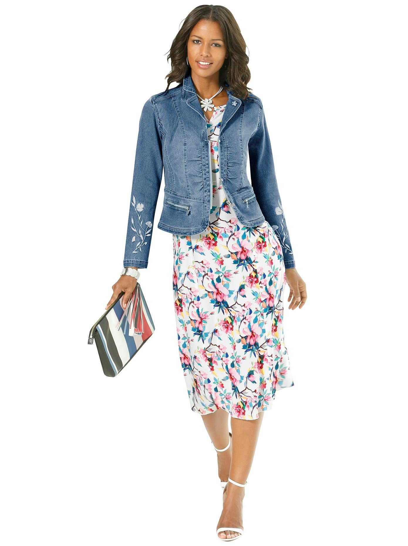Alessa W. Jeansblazer nu online kopen bij OTTO
