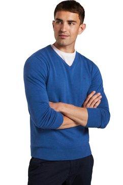 tom tailor trui met v-hals blauw