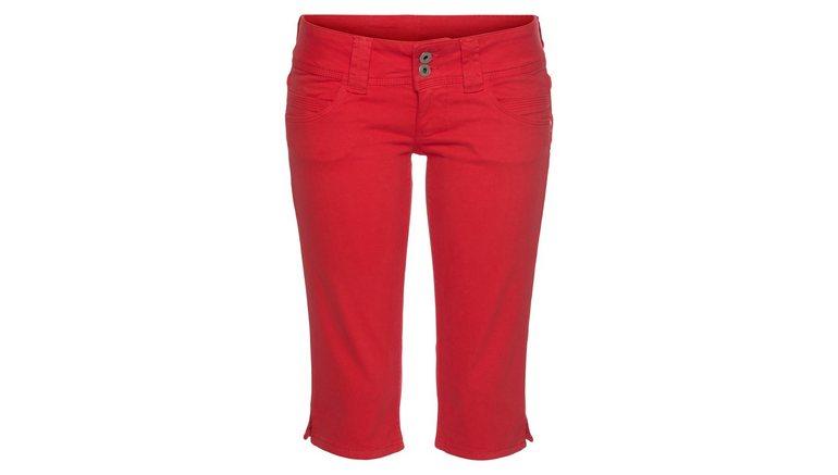 Pepe Jeans capri jeans VENUS CROP met stretch & band met dubbele knoop