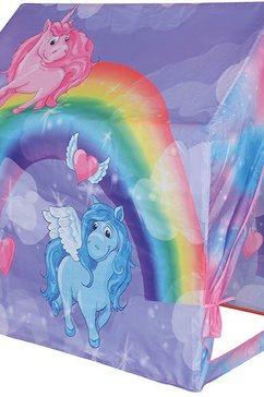 knorrtoys speeltent speelhuis, unicorn multicolor