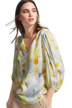 comma blouse zonder sluiting beige