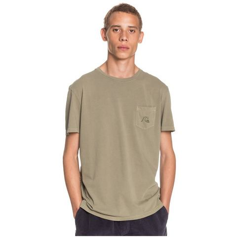 NU 20% KORTING: Quiksilver T-shirt Basic Bubble