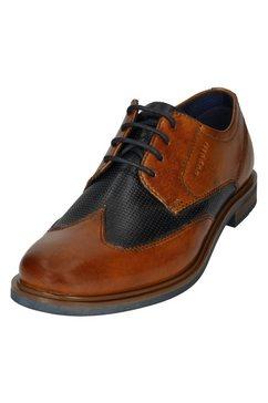 bugatti schoenen met perforatie »comfort« bruin