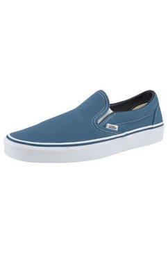 vans sneakers classic slip-on blauw