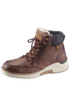 mustang shoes winterlaarzen met zacht verdikte rand bruin