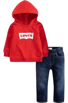 levi's kidswear shirt  broek (set, 2-delig) multicolor