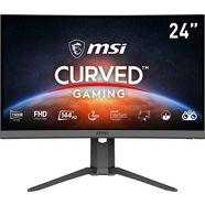 "msi curved-gaming-monitor optix g24c6p, 60 cm - 23,6 "", full hd, 3 jaar fabrieksgarantie zwart"