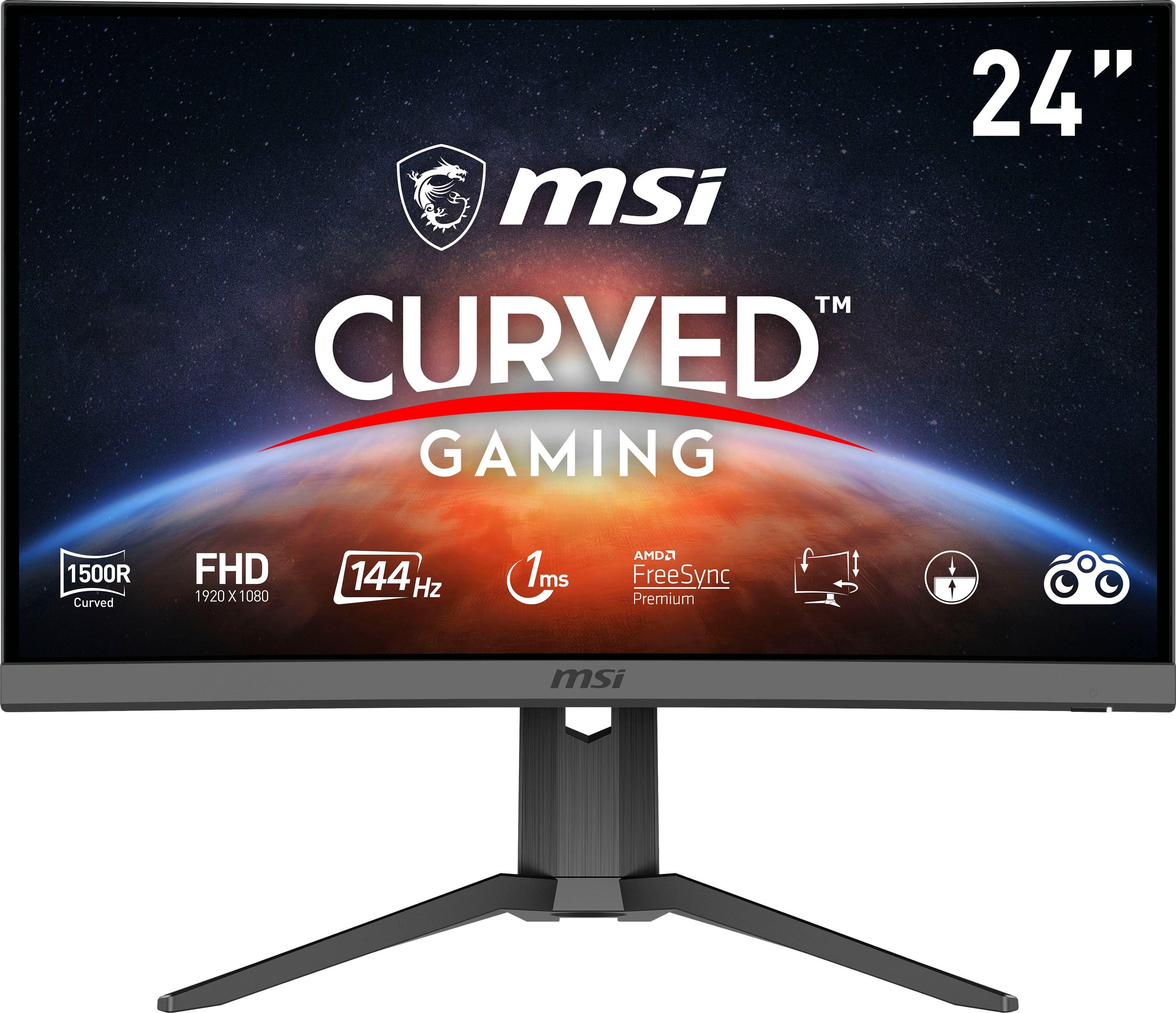 MSI Curved-gaming-monitor Optix G24C6P, 60 cm / 23,6